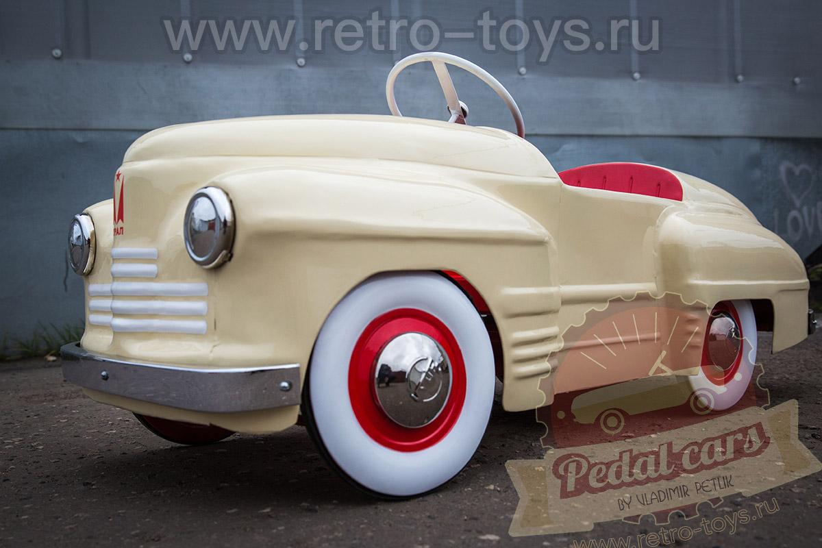 Педальный Урал СССР