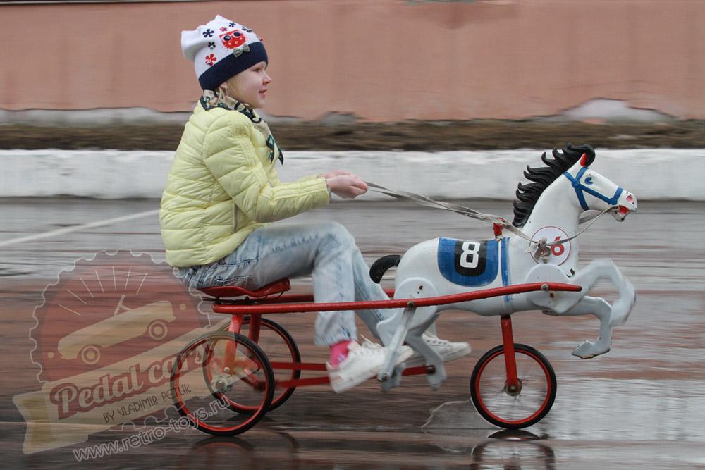 Конь педальный СССР
